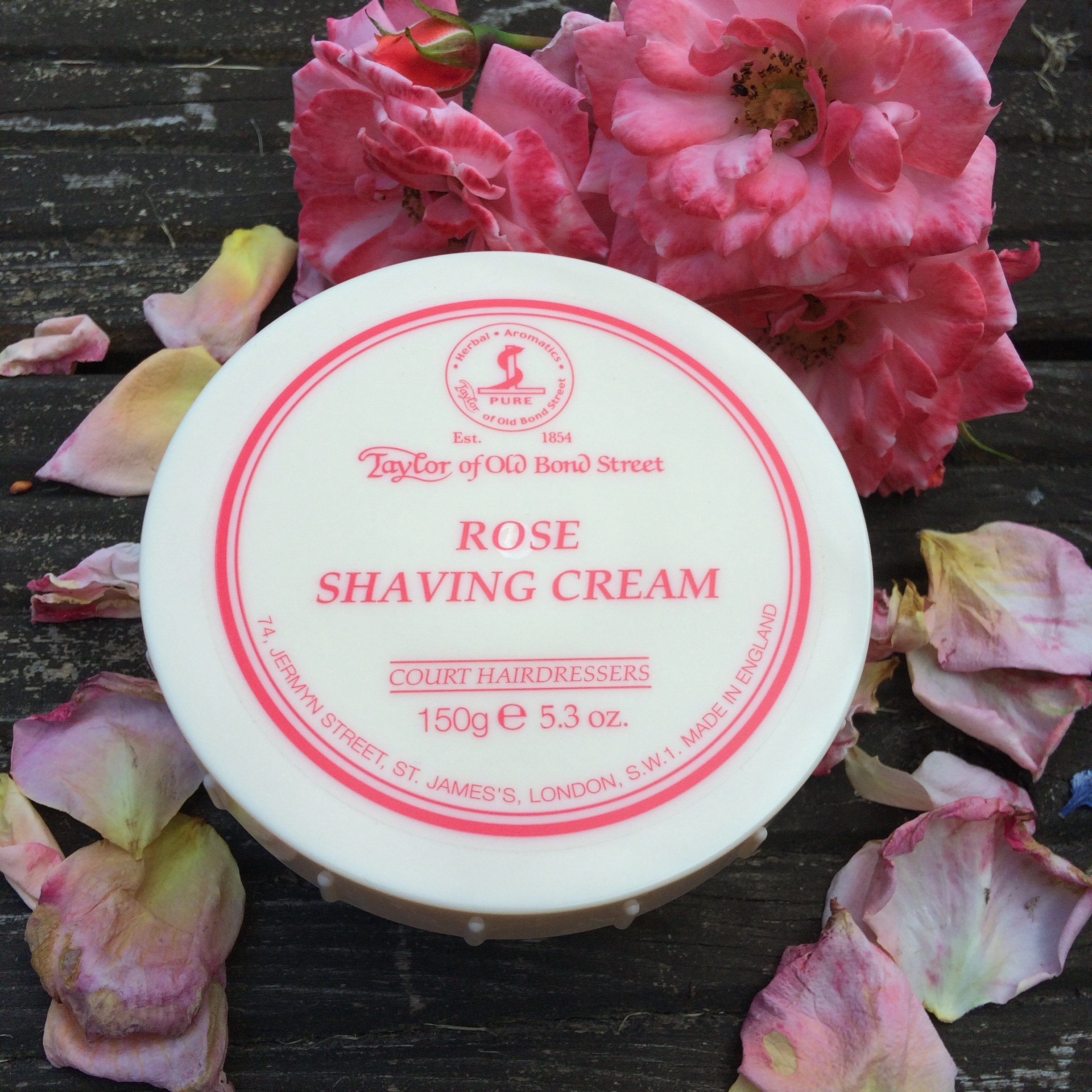 Taylor of Old Bond Street Shaving Cream - Rose | Agent Shave