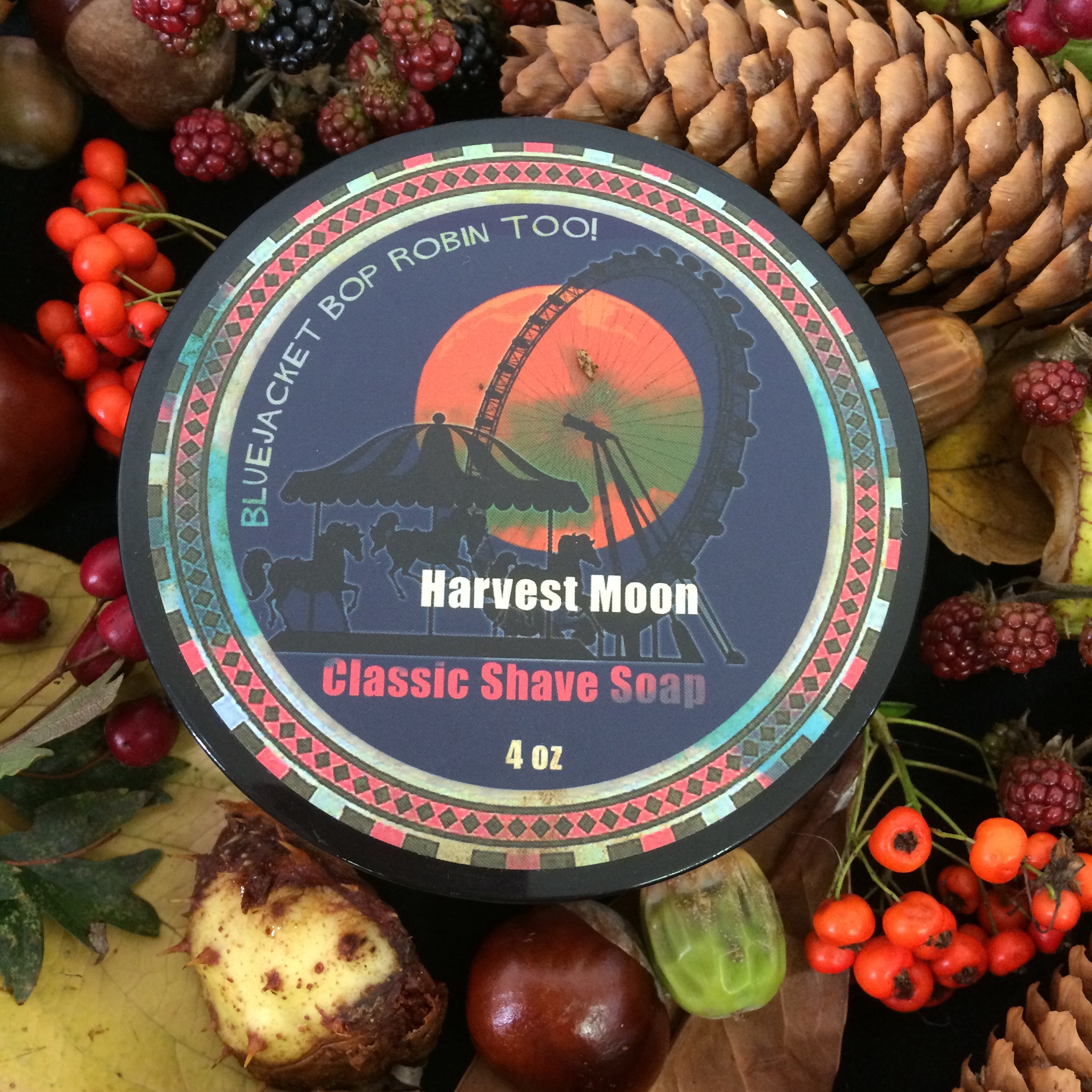 Phoenix Artisan Accoutrements Harvest Moon Shaving Soap | Agent Shave