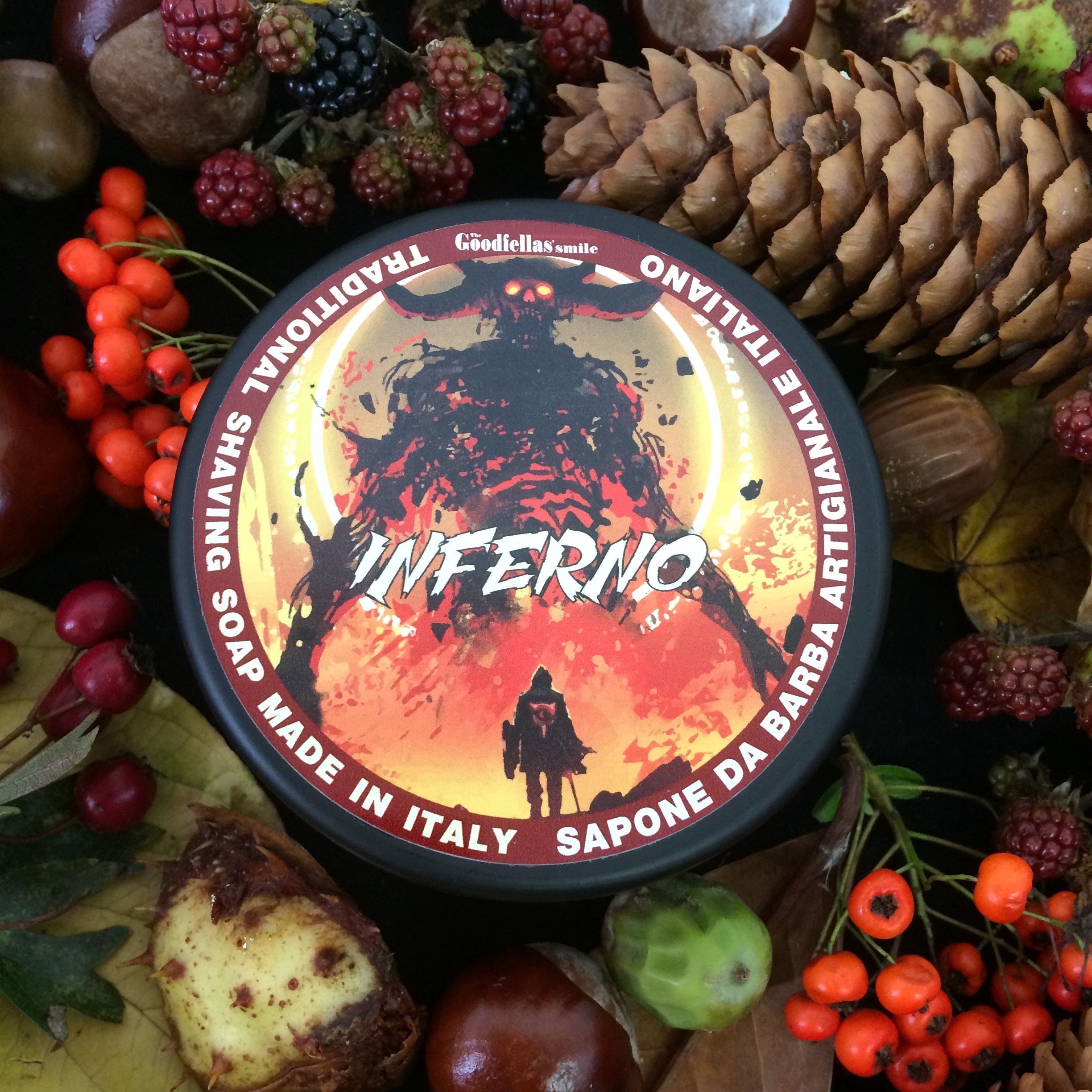The Goodfellas Smile Inferno Shaving Soap | Agent Shave