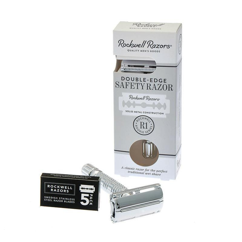 Rockwell R1 Safety Razor | Agent Shave | Wet Shaving Supplies UK