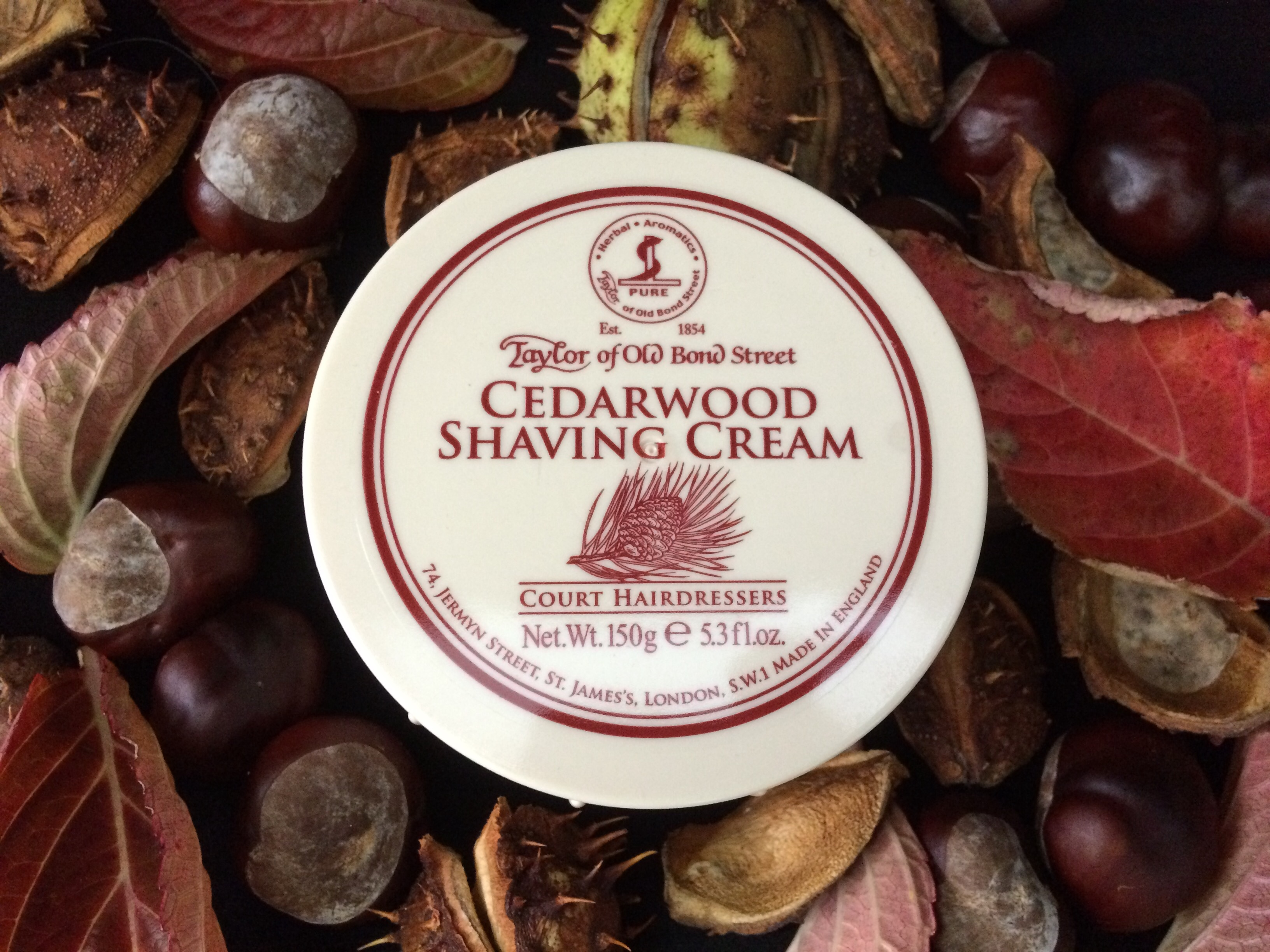 Taylor of Old Bond Street Shaving Cream - Cedarwood | Agent Shave