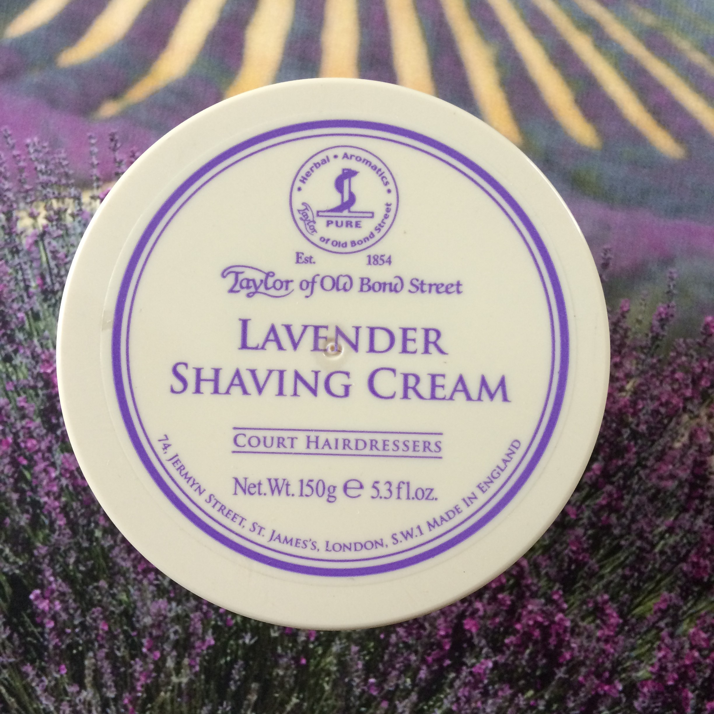 Taylor of Old Bond Street Shaving Cream - Lavender | Agent Shave