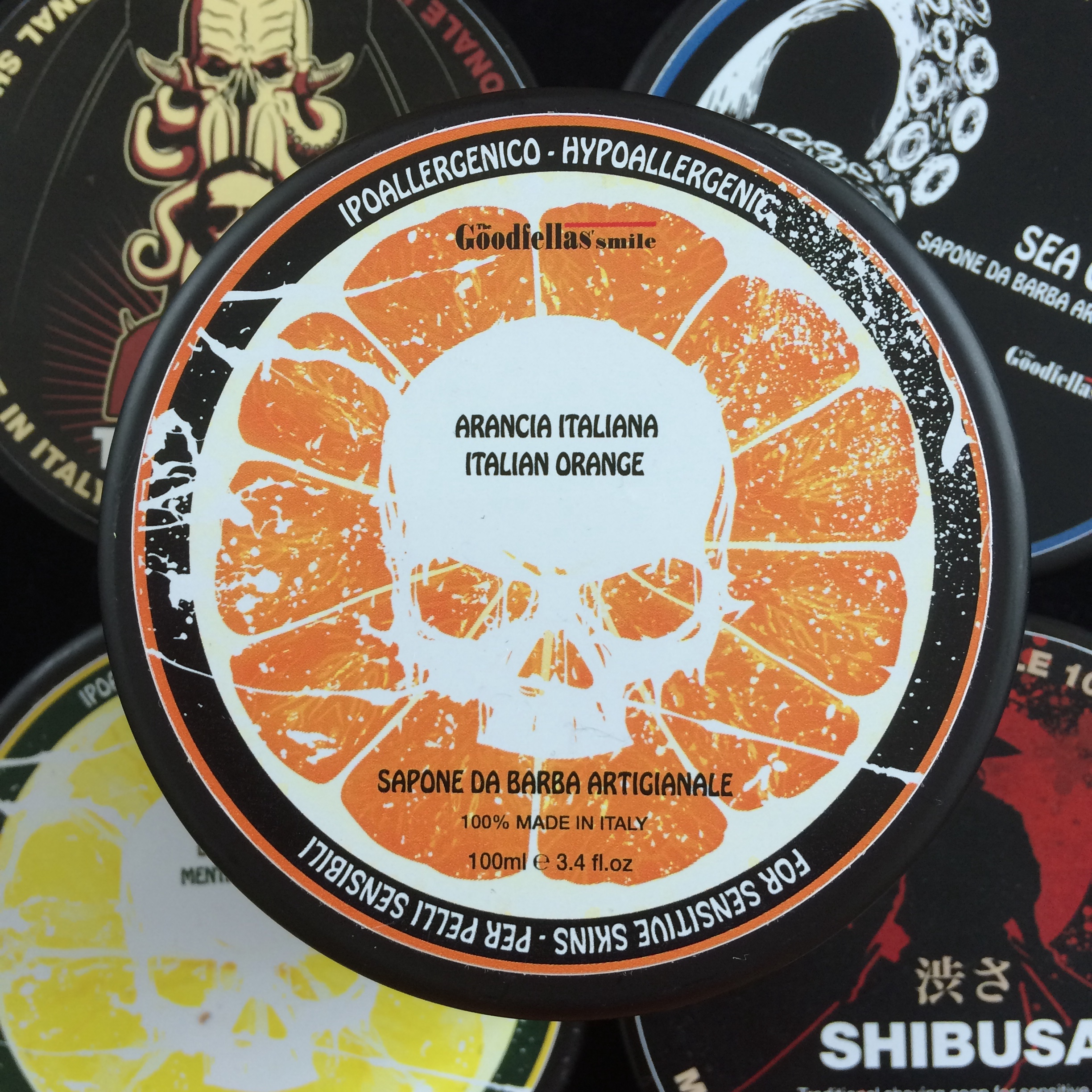 The Goodfellas Smile Shaving Soap - Italian Orange