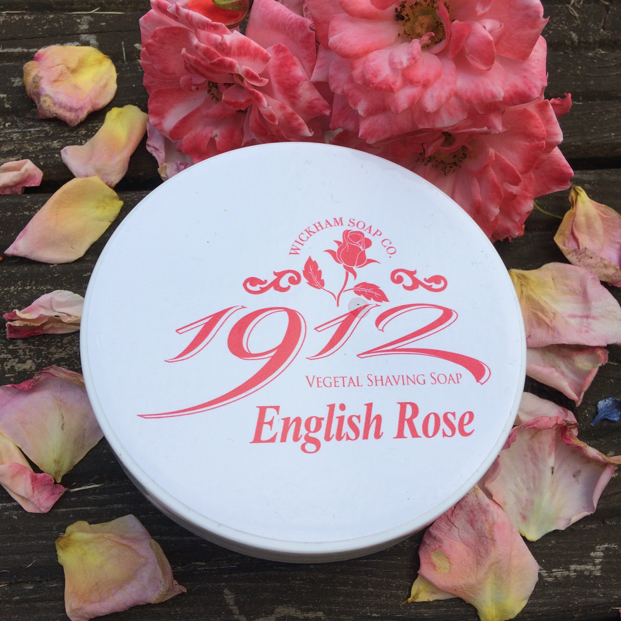 Wickham Soap Co 1912 Shaving Soap - English Rose | Agent Shave