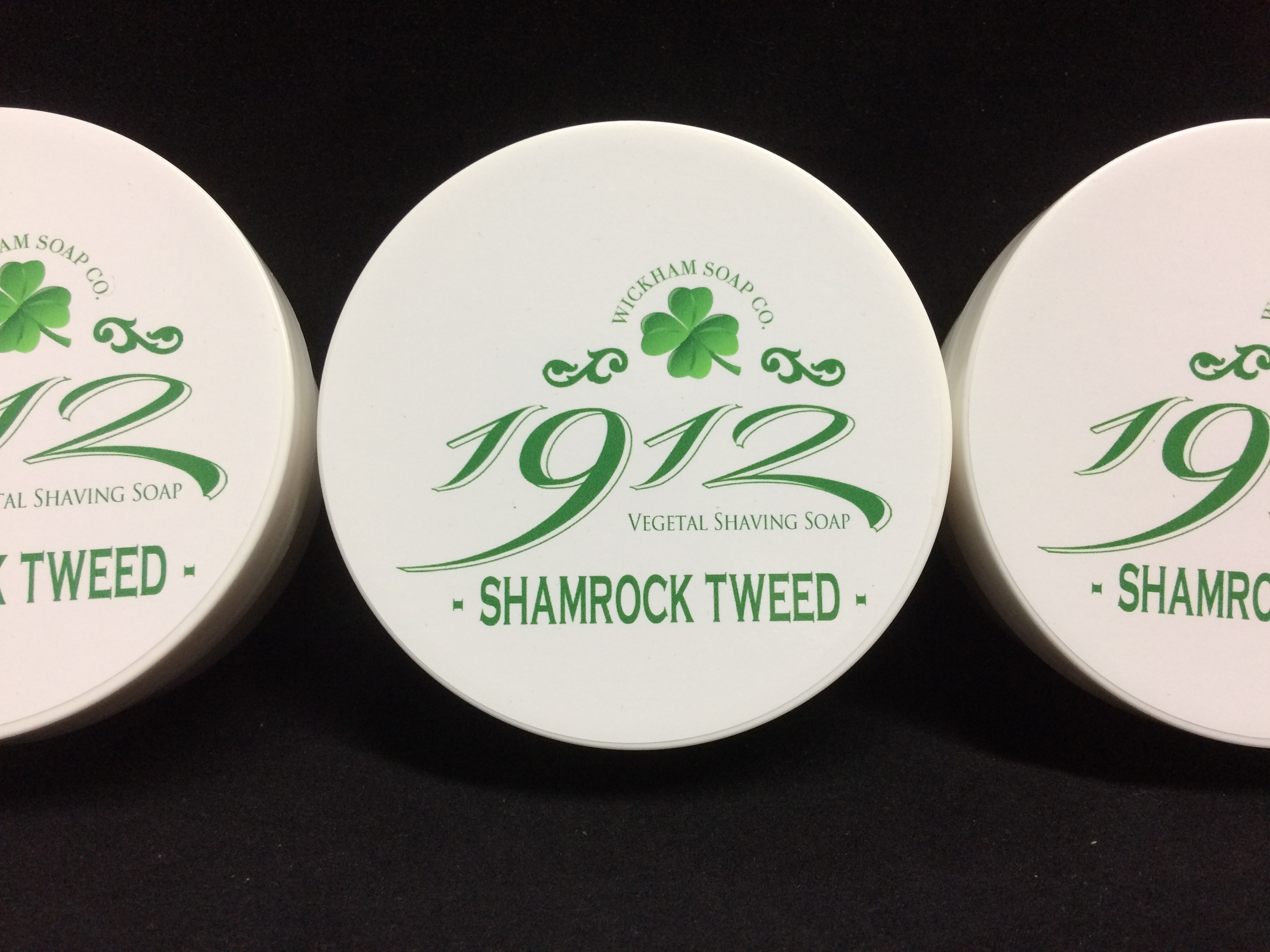 Wickham Soap Co 1912 Shaving Soap - Shamrock Tweed | Agent Shave